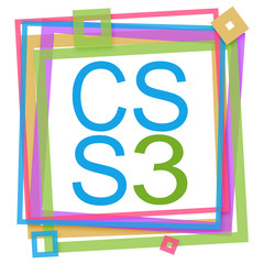 CSS 3 Colorful Frame