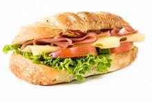 """Постер, картина, фотообои """"Close up to sandwich"""""""