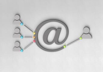 Mail Figur Spam Firewall