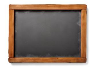 old blackboard isolated