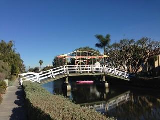 ベニスビーチ 運河