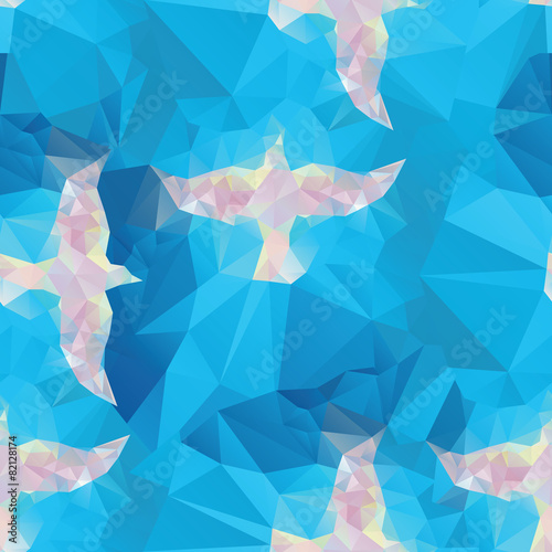 seamless backgrounds with religion symbol - 82128174