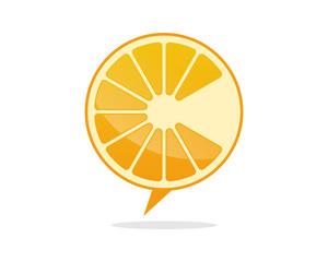 Orange Lemon Fruit Talk