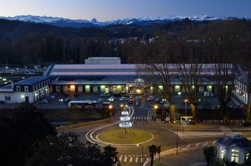 Night view of Pau
