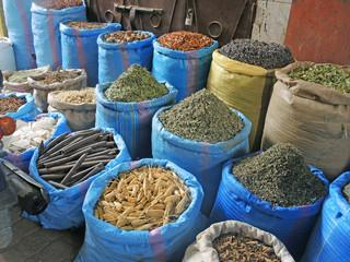 at the spice trader's - beim Gewürzhändler