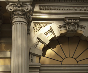 Baroque Column and Arch