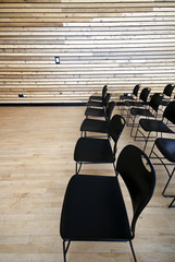 Chairs in an Auditorium