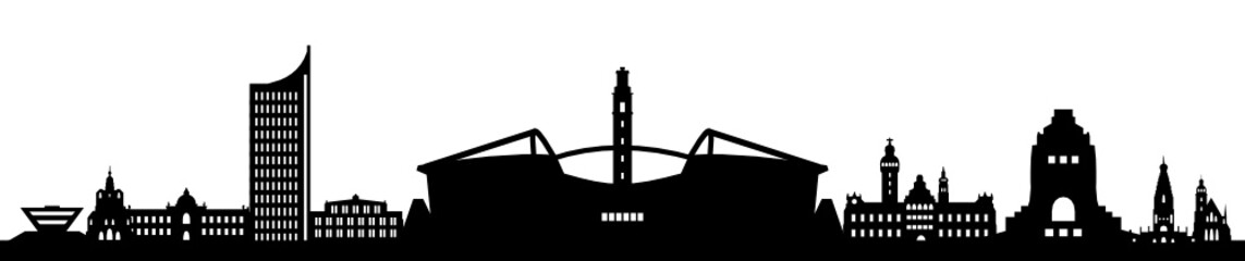 Skyline Leipzig Stadion