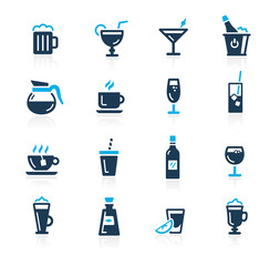 Drinks Icons -- Azure Series