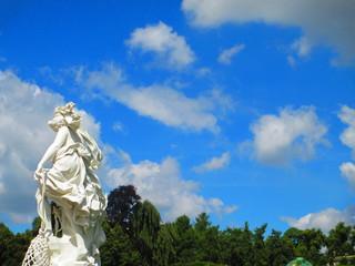 サンスーシ宮殿の像