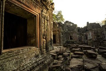 Preah Khan carving