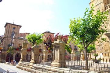 Santa Maria church, Viana, Navarre, Spain