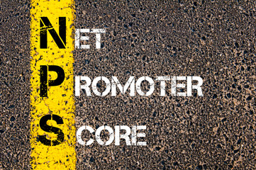Business Acronym NPS as NET PROMOTER SCORE