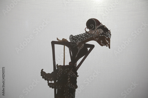 Foto op Plexiglas Indonesië Traditional Indonesian shadow puppet theatre wayang kulit