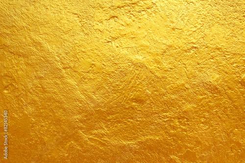 golden cement texture background - 82145340