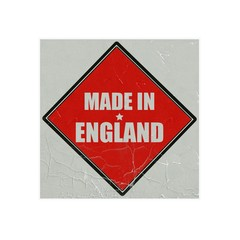 made in england white stamp text on red background