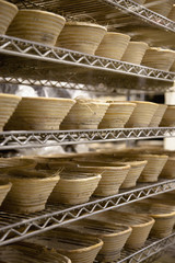 Baskets at a Bakery