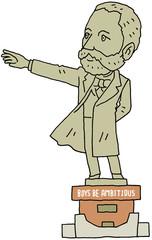 クラーク博士 銅像