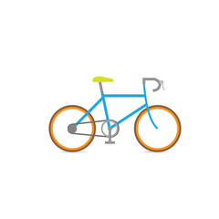 Bicycle racing vector retro