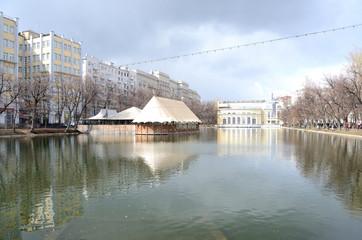 Москва,Чистые пруды