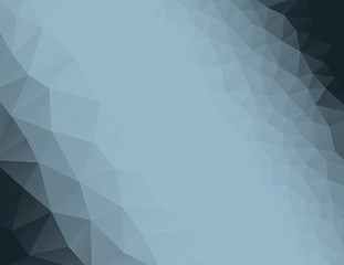 Polygon vector background illustration