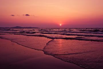 Beautiful seascape. Natural composition.