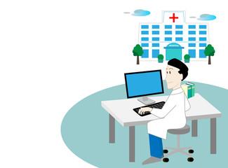 病院、医者、先生、総合病院、相談、ドクター、セカンドオピニオン