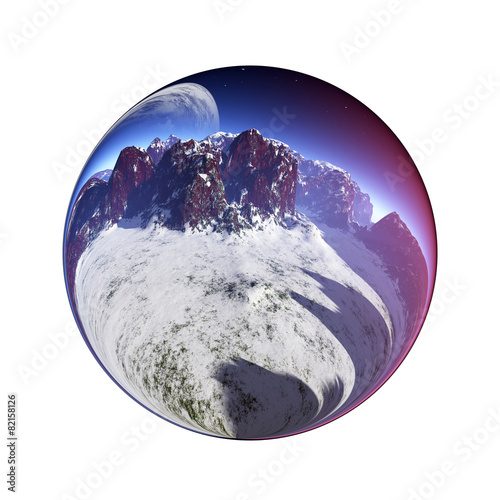 Fantastic colorful ball - 82158126