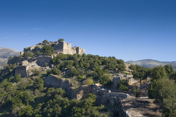 Ruins of Nimrod Fortress