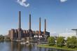 Leinwandbild Motiv Autostadt Wolfsburg