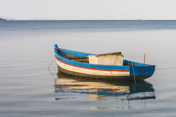 Traditional fishing boat in the Antsiranana bay
