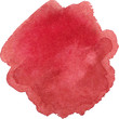 Watercolor marsala color spot - 82163137