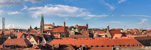 Staande foto Centraal Europa KAiserburg Nürnberg