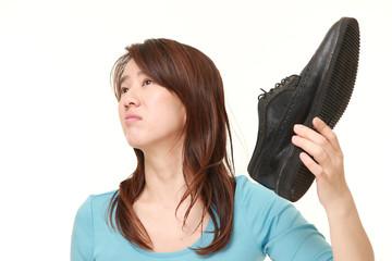 革靴の臭い