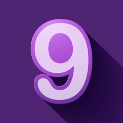Volume icons number: nine