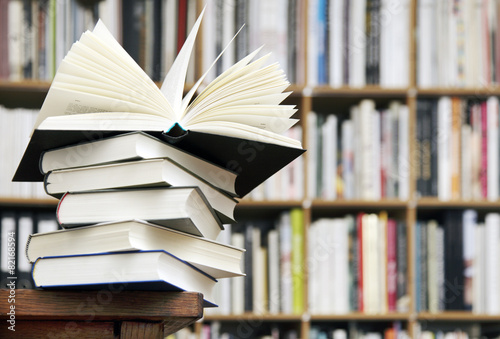 Leinwanddruck Bild Buch