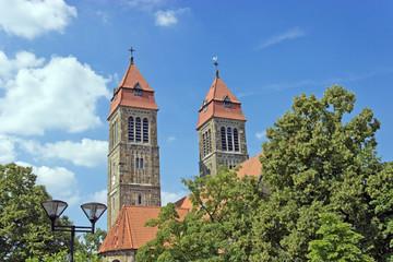 Kirchentürme St. Clemens in Hiltrup