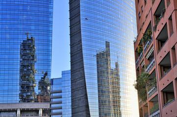 Milano Grattacieli Porta Nuova