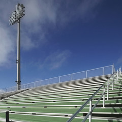 Bleachers at a Sports Field