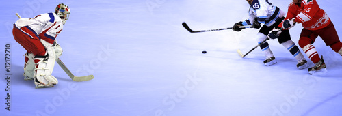 Foto op Canvas Wintersporten Eishockey Weltmeisterschaft