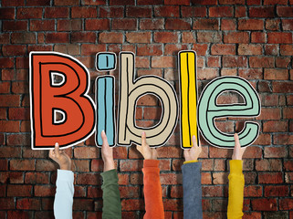 Bible Concepts Isolated on Background Concept
