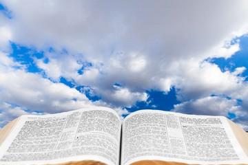 Bible. Bible & Creation Sky