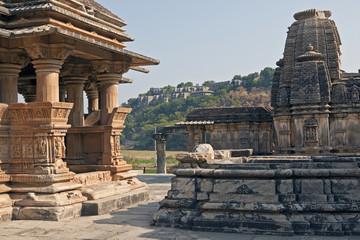 Sas-Bahu Temple at Eklingji