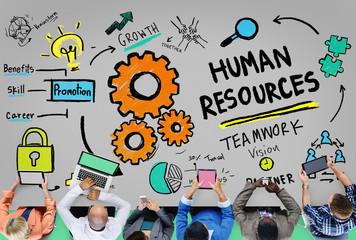 Human Resources Employment Job Recruitment Profession Concept