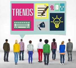 Media Hot Trendy Latest Modern Concept