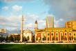 Leinwanddruck Bild - Skanderbeg square