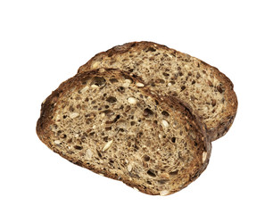 Fresh toasted high protein Bread, sliced