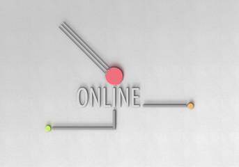Online - Typografie - Leitung Punkt 3