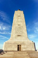 Wright brothers memorial, NC, USA.