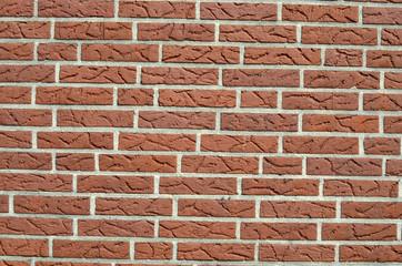 Mauer aus Ziegelsteine